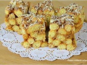 Karamelinis kukurūzų pyragas