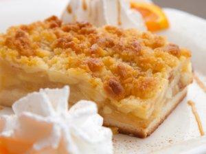 Trupininis obuolių pyragas
