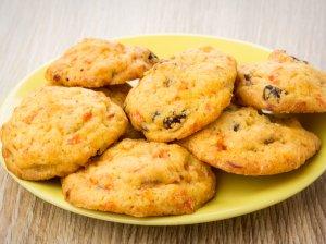 Morkų sausainiai su razinomis