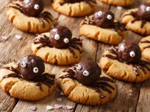 """Žavūs Helovino sausainiai """"Voriukai"""""""