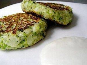 Brokolių, žiedinių kopūstų kotletai
