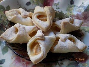 Sausainiai skarelės su obuoliais