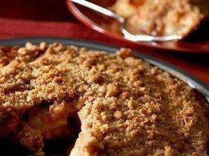 Slyvų pyragas su sausainiais