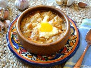 Čsnakinė ispaniška sriuba
