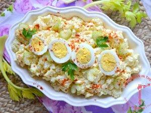 Amerikietiškos bulvių salotos