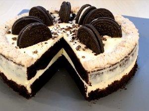 Oreo sausainių tortas