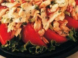 Tuno salotos su majonezu