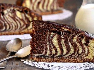 Margas marmurinis pyragas keksas