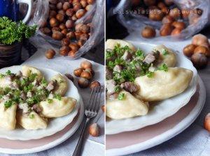 Koldūnai su bulvėmis ir sūriu
