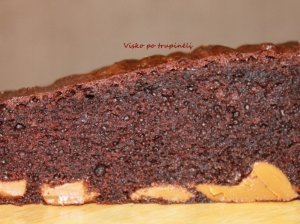 Šokoladinis pyragas su Rududu