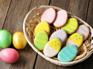 Velykiniai sausainiai margučiai