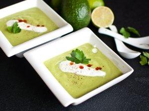 Maistinga avokadų sriuba