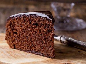 Greitas grietininis šokoladinis kakavinis pyragas