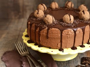 Tobulas karamelinis kavos tortas su maskarponės kremu