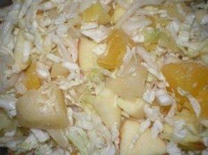 Salotos su ananasais I