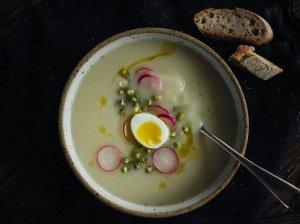 Trinta kalafiorų ir salierų sriuba