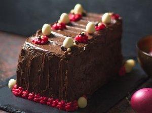 Labai šokoladinis tortas su šokolado kremu