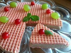 Greitas naminių ledų tortas