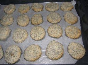 Aguoniniai sausainėliai