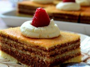 Sluoksniuotas pyragas Dryžius