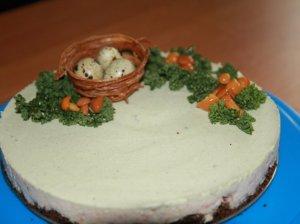 Sūrio pyragas su lašiša