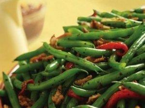 Šparaginės pupelės bulgariškai