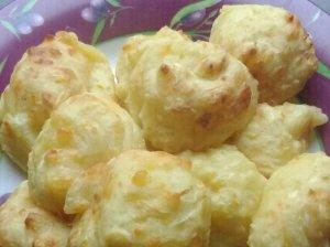 Cukinijų bulvių varškės kukuliai kotletai orkaitėje