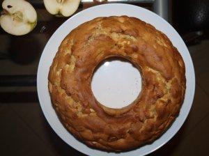 Drėgnas obuolių keksas
