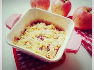 Trupiniuotis su obuoliais ir kriaušėmis (be kiaušinių)