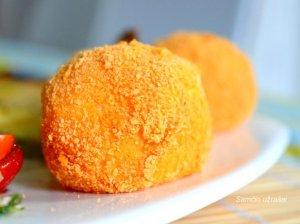 Bulvių kamuoliukai kroketai orkaitėje