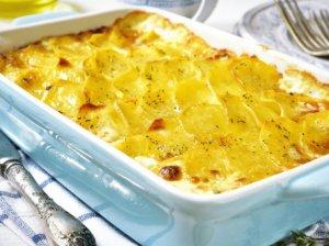 Tradicinis prancūziškas bulvių apkepas - kremiškas ir sutirpstantis burnoje