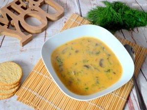 Pikantiška grybų sriuba