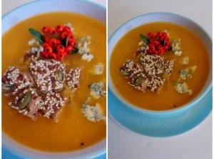Rudeniška moliūgų sriuba su sūriu