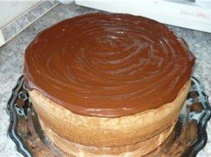 Gaivus šokoladinis pyragas