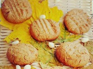 Greiti riešutų sviesto sausainiai