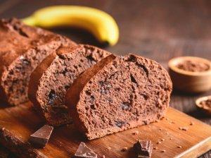 Minkštas šokoladinis bananų pyragas