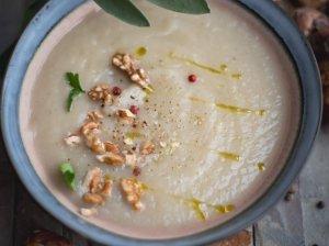 Trinta topinambų sriuba