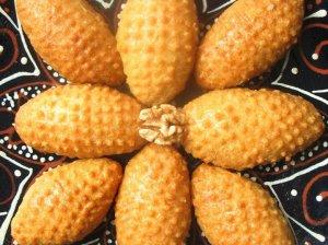 Sausainiai šyškutės kankorėžiai ežiukai