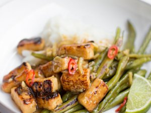 Marinuotas tofu