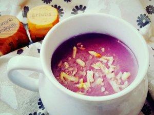 Trinta raudongūžio kopūsto sriuba su sūriu