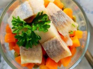 Silkė salotos