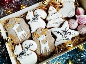 Kalėdiniai meduoliai sausainiai
