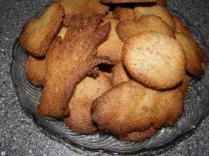 Grikių miltų sausainėliai su aguonomis