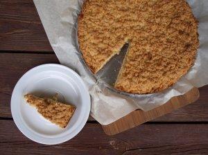 Greitas pyragas su uogiene