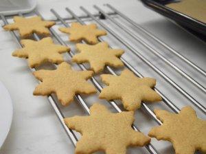 Sviestiniai sausainiai su imbieru