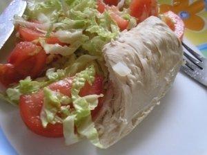 Virta vištiena su daržovėmis