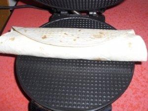 Omletas lavaše