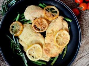 Vištiena su keptomis citrinomis