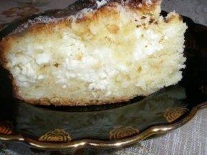 Gintarės varškės pyragas