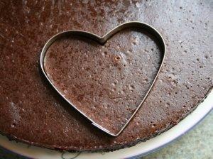 Traškios šokoladinės širdutės